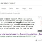 Optimize Your Content for Google Featured Snippets